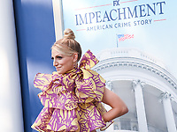 """01 September 2021 - West Hollywood, California - Annaleigh Ashford. FX's """"Impeachment: American Crime Story"""" Premiere held at The Pacific Design Center. Photo Credit: Billy Bennight/AdMedia"""