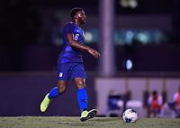 Miami, FL - Tuesday, October 15, 2019:  Mark McKenzie #6 during a friendly match between the USMNT U-23 and El Salvador at FIU Soccer Stadium.