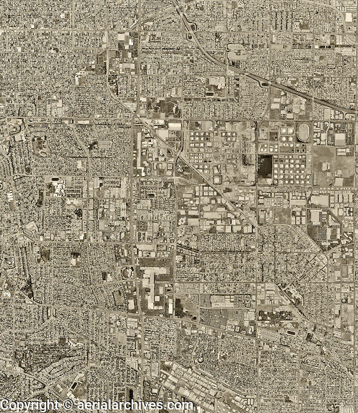 historical aerial photograph Torrance, Los Angeles County, California, 1994