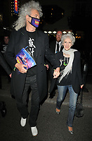 """Brian May and Anita Dobson at the """"Back to the Future The Musical"""" press night, Adelphi Theatre, The Strand, on Monday 13th September 2021 in Londomn, England, UK. <br /> CAP/CAN<br /> ©CAN/Capital Pictures"""