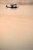 Asie/Inde/Rajasthan/Udaipur: Bateau traditionnel sur le lac Pichola