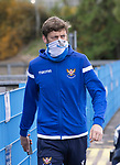 St Johnstone v Livingston…15.05.21  SPFL McDiarmid Park<br />Murray Davidson arrives at McDiarmid Park for the final league game of the season<br />Picture by Graeme Hart.<br />Copyright Perthshire Picture Agency<br />Tel: 01738 623350  Mobile: 07990 594431