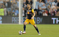 Kansas City, KS - Wednesday September 20, 2017: Felipe during the 2017 U.S. Open Cup Final Championship game between Sporting Kansas City and the New York Red Bulls at Children's Mercy Park.