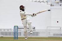 Hasim Amla of Surrey CCC pulls a short delivery behind square during Surrey CCC vs Hampshire CCC, LV Insurance County Championship Group 2 Cricket at the Kia Oval on 30th April 2021