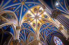 April 25, 2020; Ceiling of the transept of the Basilica of the Sacred Heart (Photo by Matt Cashore/University of Notre Dame)
