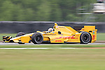 April 11, 2015: #28 Ryan Hunter-Reay of Andretti Autosport during the Indy Grand Prix of Louisiana at NOLA Motor Speedway in New Orleans, LA. Steve Dalmado/ESW/CSM