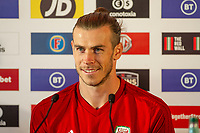 Gareth Bale of Wales during the Wales Press Conference at The Vale Resort in Cardiff, Wales, UK. Saturday 12 October 2019