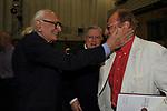MARCO PANNELLA, GAETANO GIFUNI E RENZO ARBORE<br /> CONFERENZA STAMPA PREMIO AGNES<br /> RAI ROMA 2014