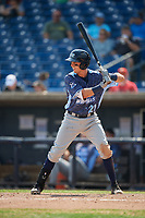 West Michigan Whitecaps second baseman Kody Clemens (21) at bat during a game against the Quad Cities River Bandits on July 23, 2018 at Modern Woodmen Park in Davenport, Iowa.  Quad Cities defeated West Michigan 7-4.  (Mike Janes/Four Seam Images)