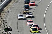 #19: Brandon Jones, Joe Gibbs Racing, Toyota Supra Menards and #20: Christopher Bell, Joe Gibbs Racing, Toyota Supra Rheem