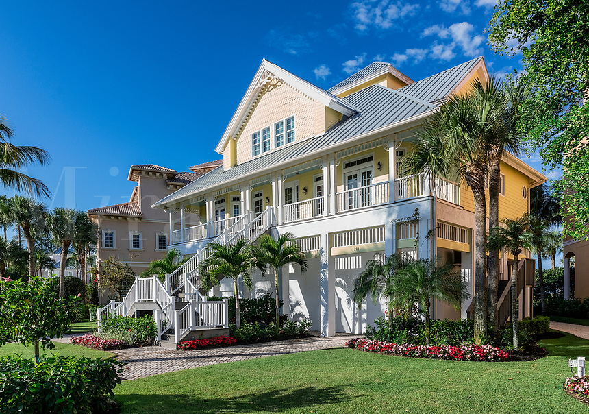 Beutiful high end house located on Barefoot Beach Road, Bonita Springs, Florida, USA.