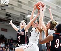 Sun Prairie at Middleton, Wisconsin WIAA Girls High School Basketball 2/20/20