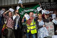 """12.05.2014 - """"Bin British Gas - Put Power In Public Hands!"""" - Demonstration"""