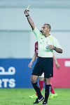 Fifa Referee Ali Sabah Al-Qaysi of Iraq shows a yellow card during the AFC Champions League 2017 Group G match between Guangzhou Evergrande FC (CHN) vs Suwon Samsung Bluewings (KOR) at the Tianhe Stadium on 09 May 2017 in Guangzhou, China. Photo by Yu Chun Christopher Wong / Power Sport Images
