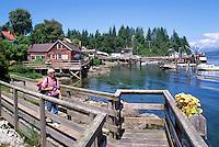 Bamfield, BC, Vancouver Island, British Columbia, Canada - Pacific Rim, West Coast Resort Village in Barkley Sound (Model Released)
