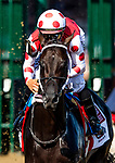 AUG 24: Midnight Bisou wins the Personal Ensign Stakes with Mike Smith aboard at Saratoga Racecourse in New York on August 24, 2019. Evers/Eclipse Sportswire/CSM