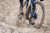 beach racing<br /> <br /> UCI 2021 Cyclocross World Championships - Ostend, Belgium<br /> <br /> Elite Men's Race<br /> <br /> ©kramon