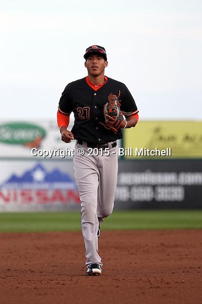 Carlos Correa -2015 Fresno Grizzlies (Bill Mitchell)