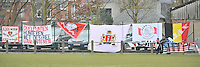 Beerschot Dames - AJAX Amsterdam Dames : spandoeken Ajax.foto JOKE VUYLSTEKE / Vrouwenteam.be
