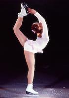 Denise Biellmann of Switzerland competes at the 1981 Skate Canada in Ottawa, Canada. Photo copyright Scott Grant.