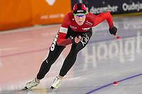 28th December 2020; Thialf Ice Stadium, Heerenveen, Netherlands; World Championship Speed Skating;  500m ladies, Jorien ter Mors during the WKKT