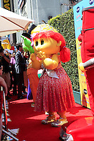 """LOS ANGELES - AUG 19:  Oogieloves character arrives at """"The Oogieloves In The Big Balloon Adventure"""" LA Premiere at Graumans Chinese Theater  on August 19, 2012 in Los Angeles, CA"""