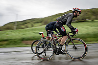 Thomas De Gendt (BEL/Lotto Soudal) up the Colle Passerino (3km from the finish)<br /> <br /> 104th Giro d'Italia 2021 (2.UWT)<br /> Stage 4 from Piacenza to Sestola (187km)<br /> <br /> ©kramon