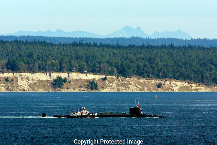 USS Seawolf (SSN-21), the lead ship of her class, is the fourth submarine of the United States Navy named for the seawolf, a solitary fish with strong, prominent teeth and projecting tusks that give it a savage look.