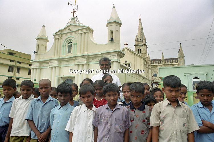 Father Xavier,a beacon of light to the Tsunami victims.Nagapattinam.India.