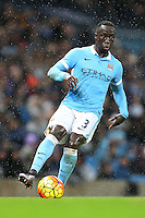 Bacary Sagna during the Barclays Premier League Match between Manchester City and Swansea City played at the Etihad Stadium, Manchester on 12th December 2015
