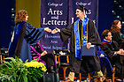 May 19, 2019; College of Arts & Letters degree ceremony, 2019 Commencement (Photo by Matt Cashore/University of Notre Dame)