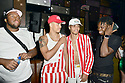 MIAMI, FL - JULY 09: Recording artist Jonny Dilakian and AAron Dilaikian of JNA, Ty (L) and Hamody (R) attend Miami Swim week JNA after party single release event at Racket Wynwood on July 9, 2021 in Miami, Florida. ( Photo by Johnny Louis / jlnphotography.com )