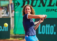 Netherlands, Amstelveen, August 22, 2015, Tennis,  National Veteran Championships, NVK, TV de Kegel,  Lady's  45+, Mariëlle Spekreijse<br /> Photo: Tennisimages/Henk Koster