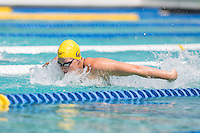 Santa Clara, California - Friday June 3, 2016: Caitlin Levernz competes in the Women's 400 Long Course Meter IM event at the Arena Pro Swim Series.