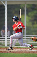 Boston Red Sox Tyler Spoon (25) during an Instructional League game against the Minnesota Twins on September 24, 2016 at CenturyLink Sports Complex in Fort Myers, Florida.  (Mike Janes/Four Seam Images)