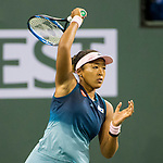March 11, 2019: Naomi Osaka (JPN) defeated Danielle Collins (USA) 6-4, 6-2 at the BNP Paribas Open at the Indian Wells Tennis Garden in Indian Wells, California. ©Mal Taam/TennisClix/CSM