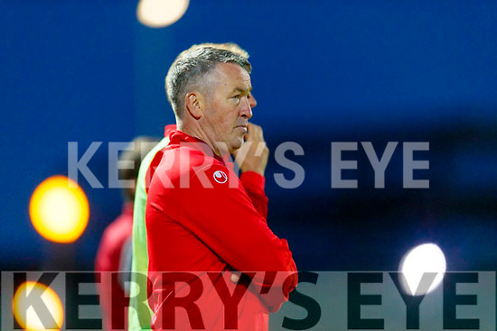 East Kerry Manager Jerry O'Sullivan during the Kerry County Senior Football Championship Final match between East Kerry and Mid Kerry at Austin Stack Park in Tralee on Saturday night.