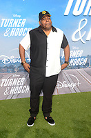 "LOS ANGELES - JUL 15:  Reginald VelJohnson at Disney+ ""Turner & Hooch"" Premiere Event at Westfield Century City Mall on July 15, 2021 in Century City, CA"