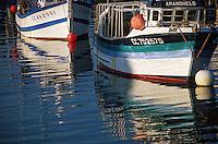 Europe/France/Bretagne/29/Finistère/Doelan: Bateaux de pêche sur le port