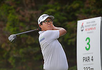 Dongwoo Kang. Day one of the Brian Green Property Group NZ Super 6s Manawatu at Manawatu Golf Club in Palmerston North, New Zealand on Thursday, 25 February 2021. Photo: Dave Lintott / lintottphoto.co.nz