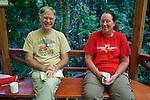 Terry Erwin & Kristina Timmerman At Field Station, Tiputini