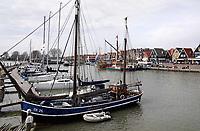 Nederland - Volendam - 2018.  Boten in de haven van Volendam.   Foto Berlinda van Dam / Hollandse Hoogte