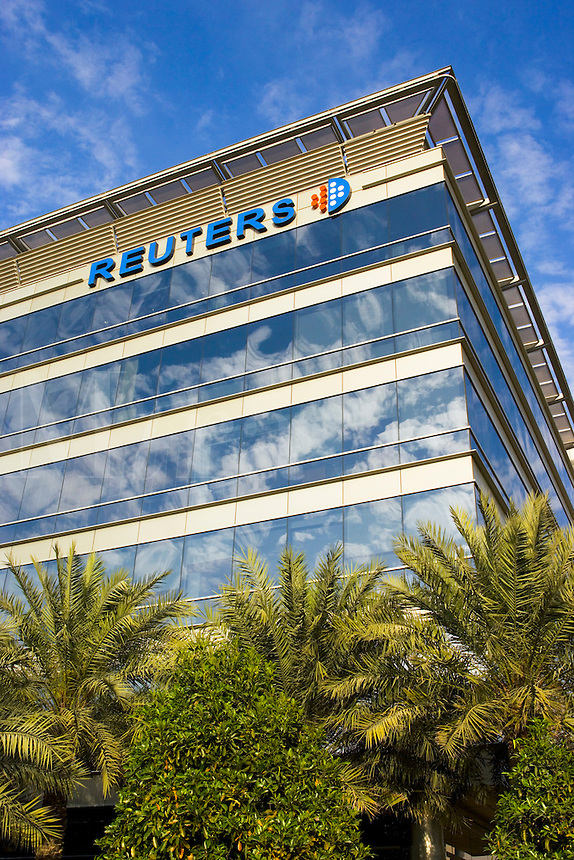 Reuters regional office in Media City, one of the Dubai Free Zones.  Dubai. United Arab Emirates.