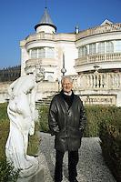 "Switzerland. Canton Ticino. Besazio. ""Castello Luigi"" is the property of Luigi Zanini, wine grower and producer.  © 2008 Didier Ruef"