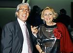 ANTONIO MARINI E ANNAMARIA GAMBINERI<br /> FESTA ENRICO COVERI AL TOULA'<br /> MILANO 1989