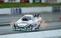 Jun. 2, 2012; Englishtown, NJ, USA: NHRA funny car driver Mike Neff during qualifying for the Supernationals at Raceway Park. Mandatory Credit: Mark J. Rebilas-