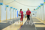 Anne O'Sullivan Kenny and Máire Flynn Lead coordinator at the vaccination centre at Tralee sports academy ion Tralee.