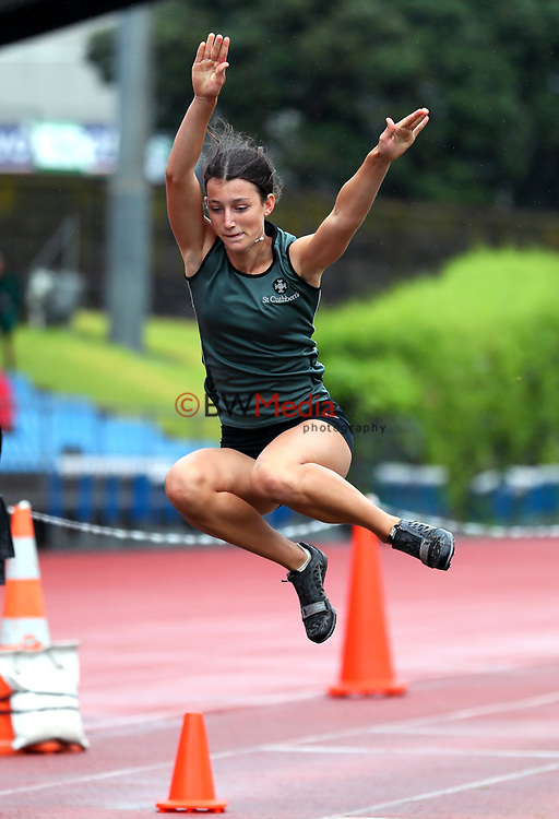 St Cuthberts College. Auckland Secondary Schools Athletic Championships, Mt Smart Stadium, Auckland, Tuesday 30 March 2021. Photo: Simon Watts/www.bwmedia.co.nz
