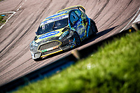 Derek Tohill, Ford Fiesta MkVII, BRX Supercars into Paddock Bend during the 5 Nations BRX Championship at Lydden Hill Race Circuit on 31st May 2021