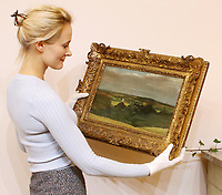 Newly discovered oil sketch by John Constable of his beloved Dedham Vale